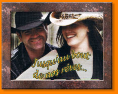 Claudia et Steve ,country,radio